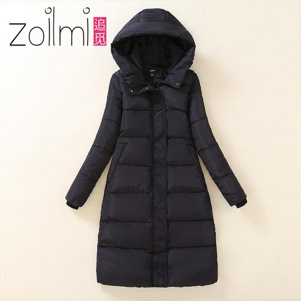 Длина подбитый женщина зима хлопок длинная модель облегающий, южнокорейская версия ватник женщина толстый шлейф волокно бедро подбитый
